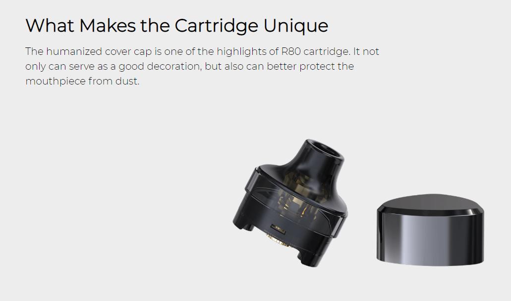 Wismec R80 Cartridge Cover Cap