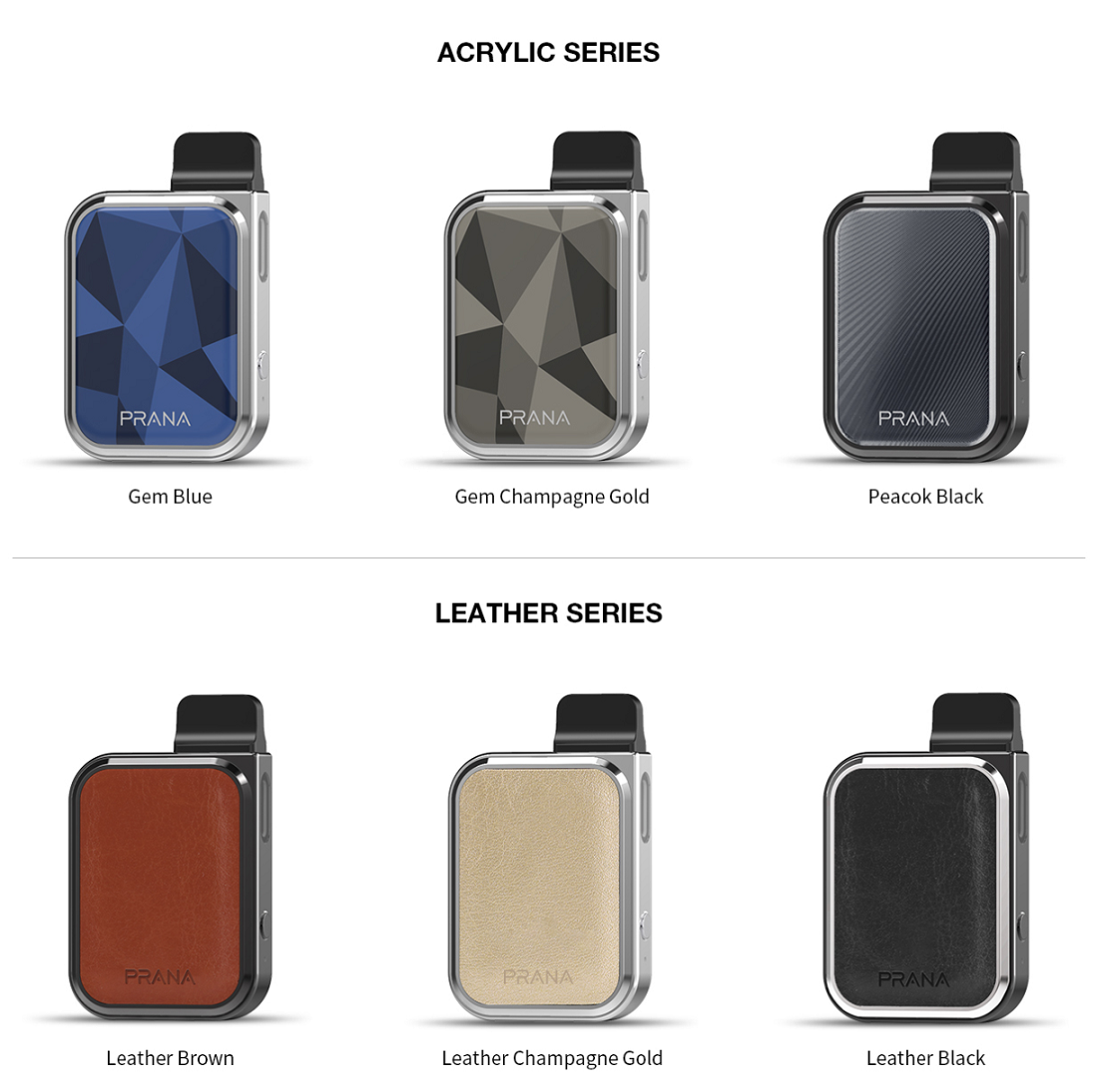 lost vape Prana Kit Six Color Available