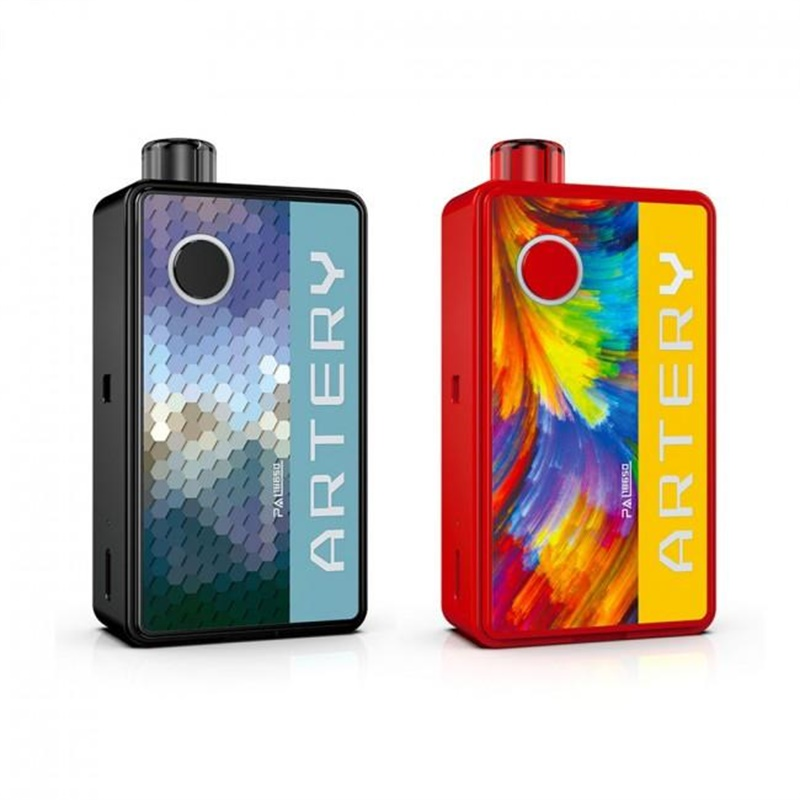 artery pal 18650 mod pod system kit 60w colors