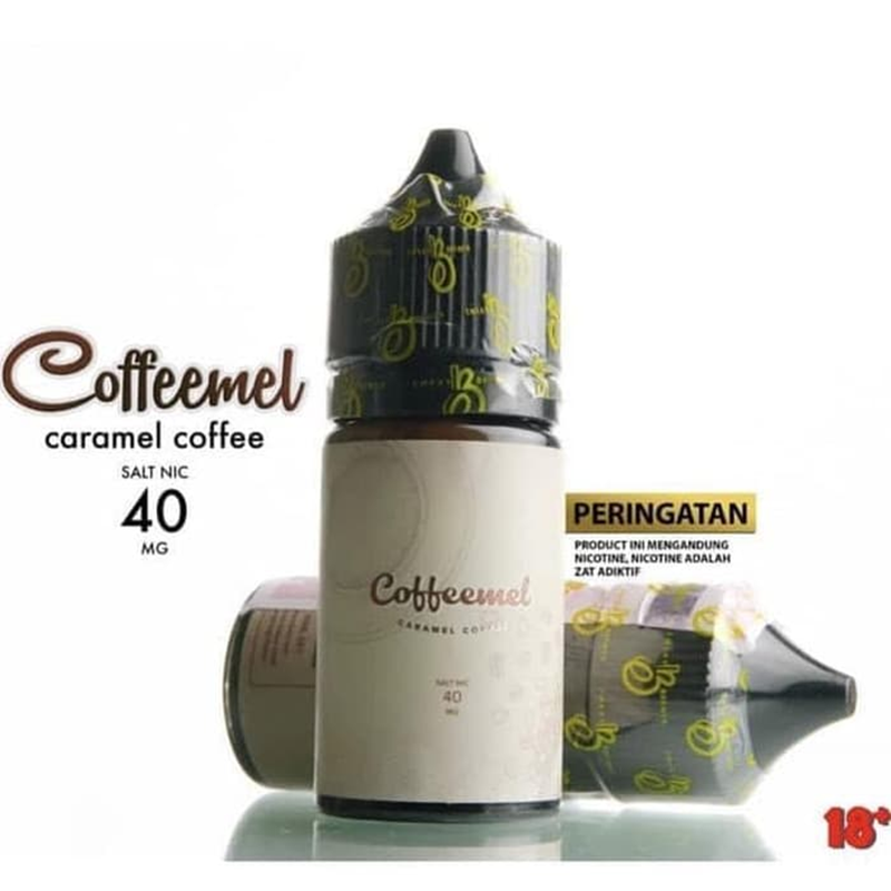Coffeemel Salt Nic Liquid 40mg/30ml emkay