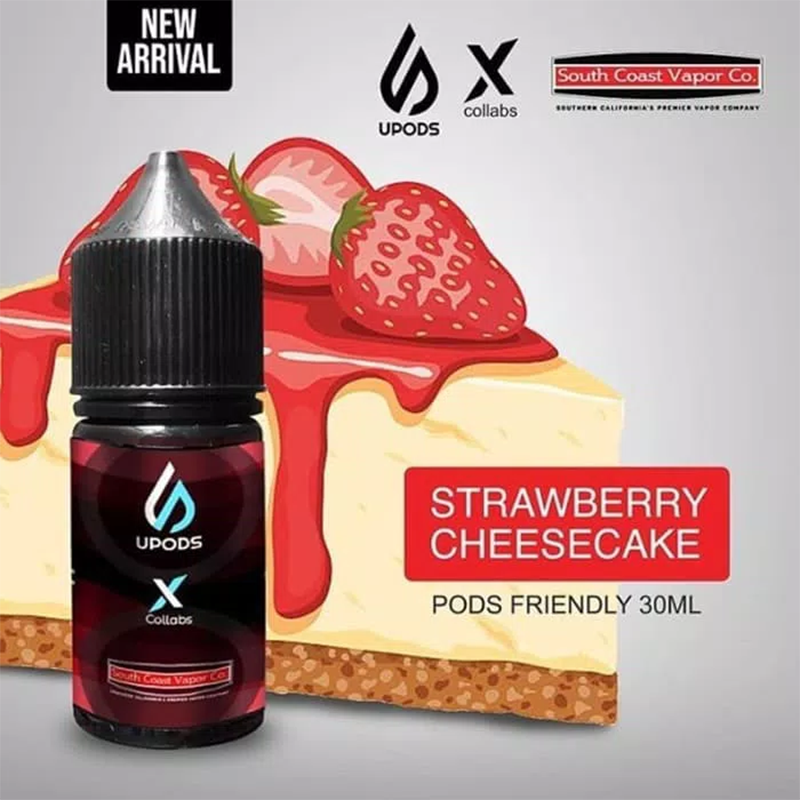 Upods-Strawberry-Cheesecake-liquid 30ml 12mg