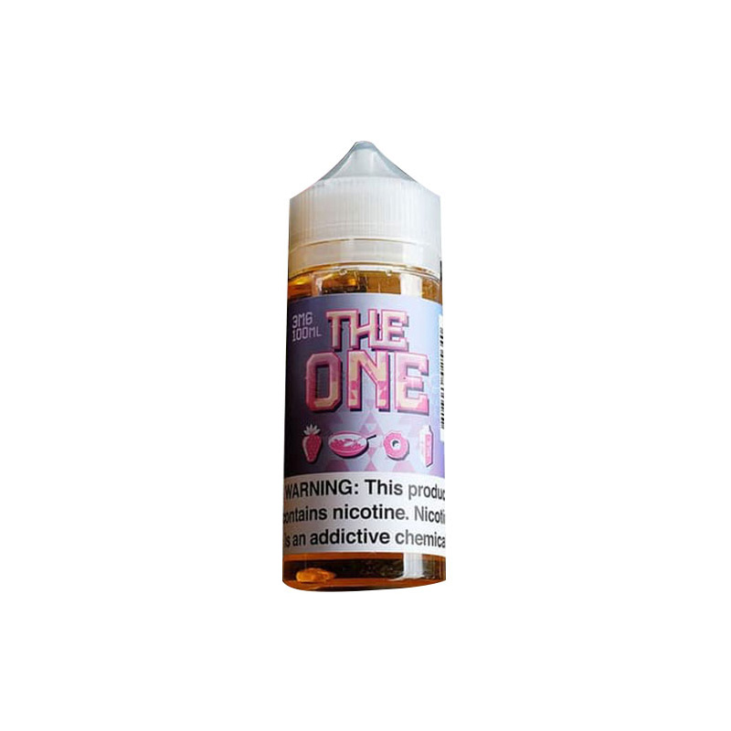 the one strawberry creamy liquid
