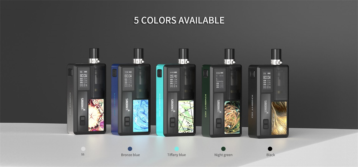 [Image: Smoant_Knight_80_5_Colors_Available.jpg]