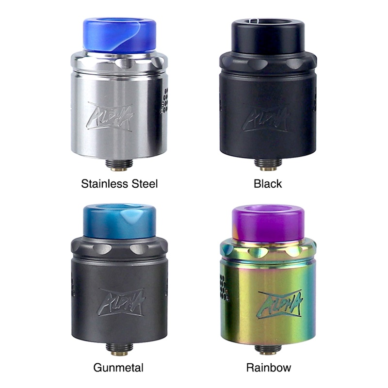Starss Alpha Mesh RDA Rebuildable Dripping Atomizer 24mm