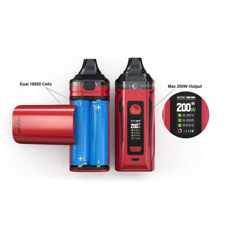 [Image: Artery_Nugget_GT_Pod_Mod_200W_Kit_Dual_Battery.jpg]