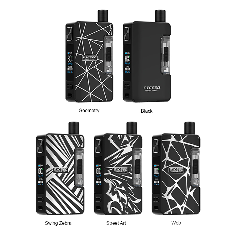Joyetech Exceed Grip Plus Pod System Kit 80W all colors